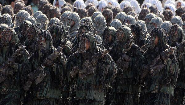 Солдаты Иранской армии, фото из архива - Sputnik Азербайджан