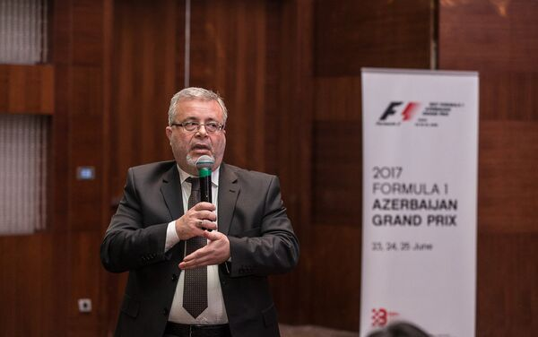 Начался процесс аккредитации СМИ на 2017 Гран При Азербайджана Формулы 1 - Sputnik Азербайджан