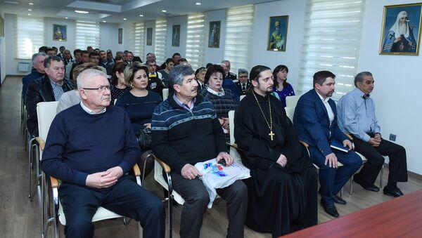 В Православном Религиозно-культурном центре Бакинской епархии прошло мероприятие по подготовке проведения в Баку акции Бессмертный полк - Sputnik Азербайджан