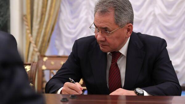 Министр обороны РФ, генерал армии Сергей Шойгу, архивное фото - Sputnik Azərbaycan