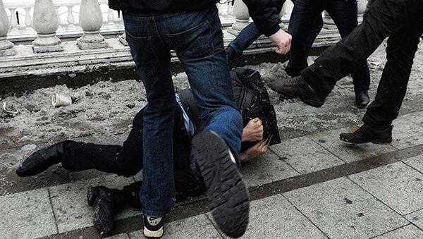 Избиение, фото из архива - Sputnik Азербайджан