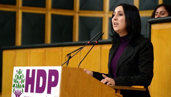 Xalqların Demokratik partiyasının (HDP) həmsədri Figən Yüksəkdağ - Sputnik Azərbaycan
