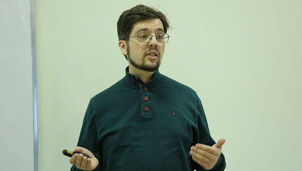 Глава Евразийского аналитического клуба Никита Мендкович - Sputnik Азербайджан