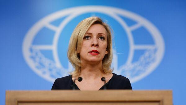 Брифинг официального представителя МИД России Марии Захаровой - Sputnik Азербайджан