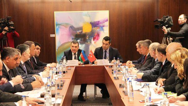Восьмое заседание Исполнительного комитета по сельскому хозяйству между Азербайджаном и Турцией - Sputnik Азербайджан