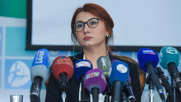 Глава национального антидопингового агентства Азербайджана (AMADA) Шафаг Гусейнли - Sputnik Азербайджан