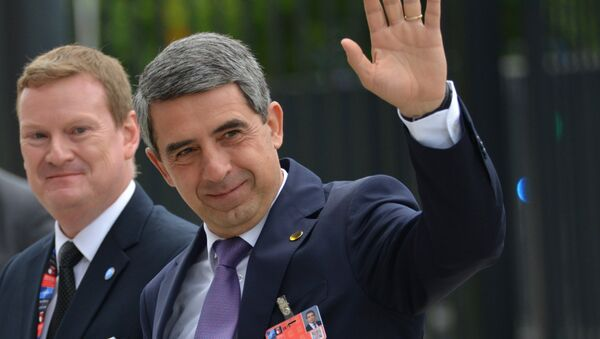 Президент Болгарии Росен Плевнелиев - Sputnik Азербайджан