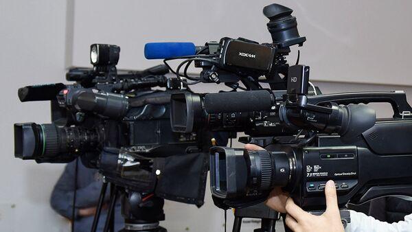 Видеокамеры, фото из архива - Sputnik Азербайджан