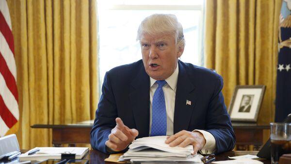 ABŞ prezidenti Donald Tramp - Sputnik Азербайджан