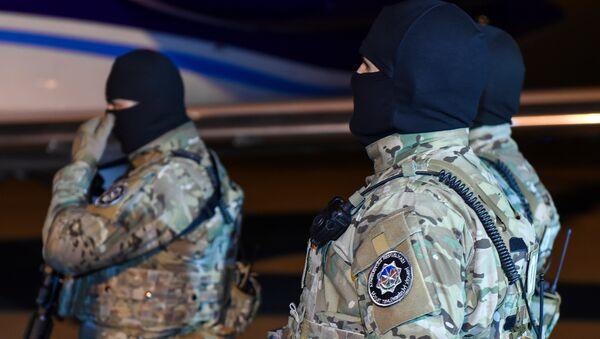 Сотрудники  Службы государственной безопасности Азербайджана, фото из архива - Sputnik Азербайджан