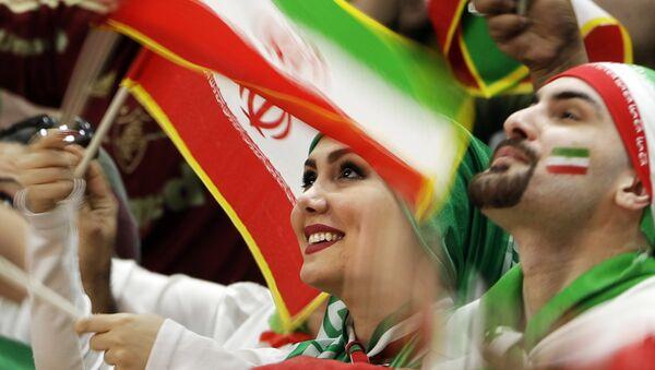 Фанаты, фото из архива - Sputnik Азербайджан