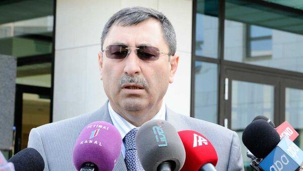 Заместитель министра иностранных дел Азербайджана Халаф Халафов, фото из архива - Sputnik Азербайджан