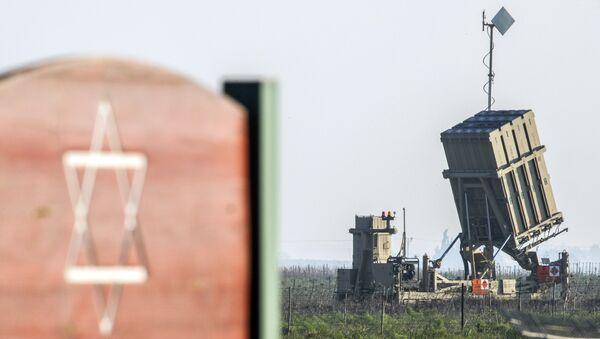 """İsrailin """"Dəmir günbəz"""" hava və raket hücumundan müdafiə sistemi - Sputnik Azərbaycan"""