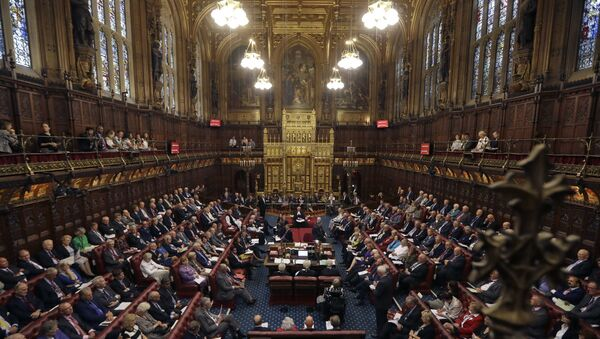 Палата лордов британского парламента, фото из архива - Sputnik Азербайджан
