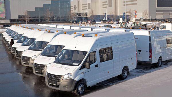 Фургоны ГАЗель NEXT, фото из архива - Sputnik Азербайджан