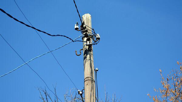 Электрический столб - Sputnik Azərbaycan