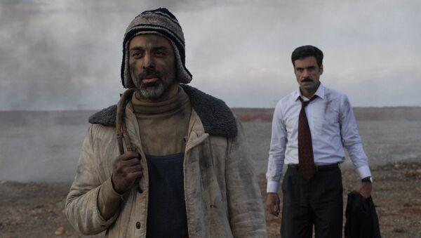 Кадр из фильма Красный сад - Sputnik Азербайджан