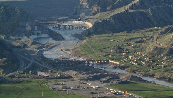Мост Худаферин, фото из архива - Sputnik Азербайджан
