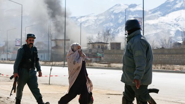 Взрыв в Афганистане, фото из архива - Sputnik Азербайджан