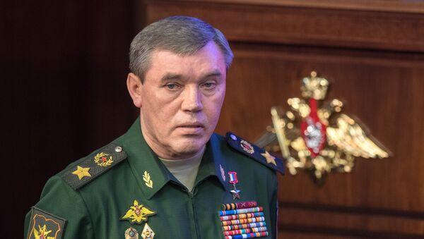 Начальник Генерального штаба ВС РФ генерал армии Валерий Герасимов, фото из архива - Sputnik Азербайджан