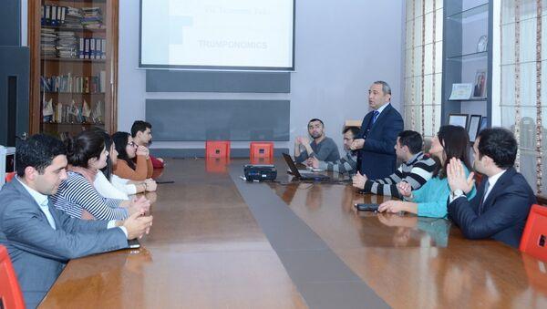 ISE Economic Talksun ilk görüşü - Sputnik Azərbaycan