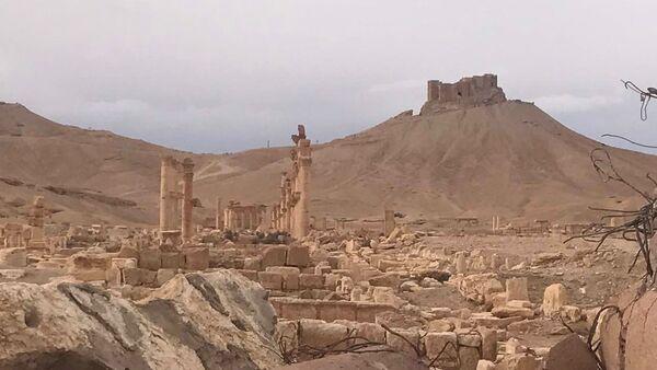 Историко-архитектурный комплекс Древней Пальмиры в сирийской провинции Хомс - Sputnik Азербайджан