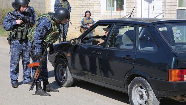 Трое боевиков уничтожены в ходе спецоперации в Буйнакске - Sputnik Азербайджан