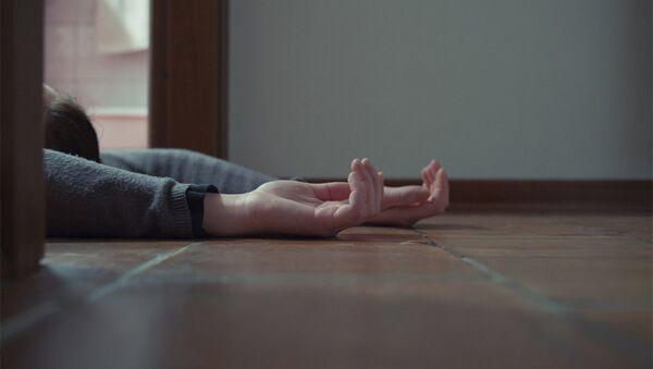 Мертвая девушка, фото из архива - Sputnik Азербайджан