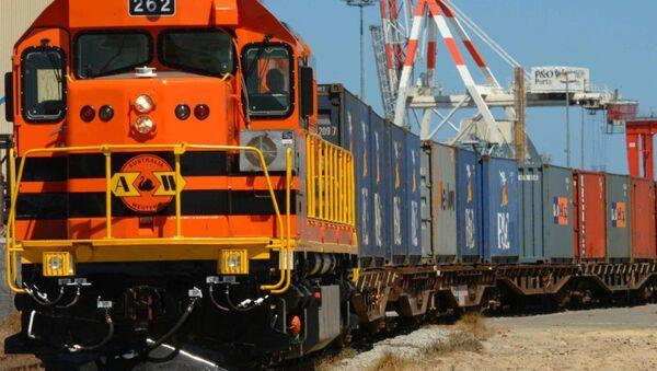 Международный транспортный коридор Север-Юг - Sputnik Азербайджан