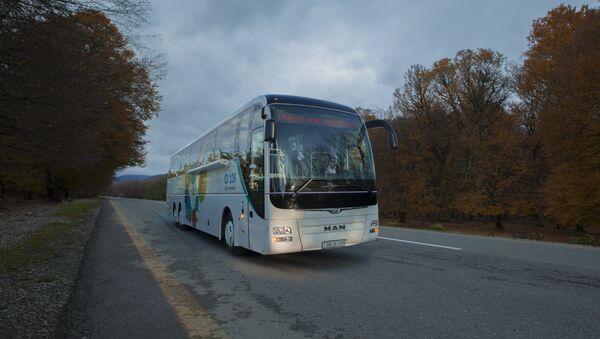 Səyyar ASAN xidmət avtobusu - Sputnik Azərbaycan