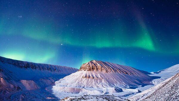Norveçin Svalbard adası - Sputnik Azərbaycan