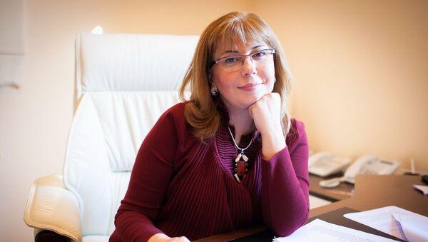 Директор Института по правам человека Айтен Мустафаева - Sputnik Азербайджан