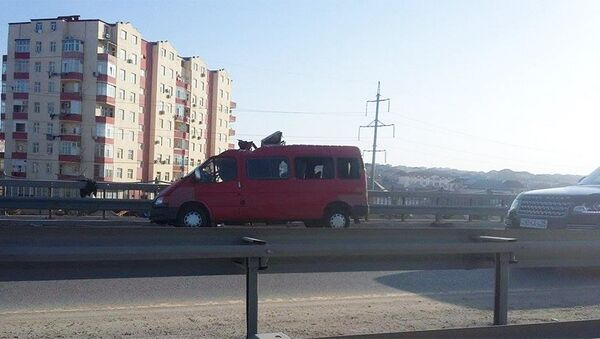 ДТП на трассе Баку-Сумгайыт - Sputnik Азербайджан