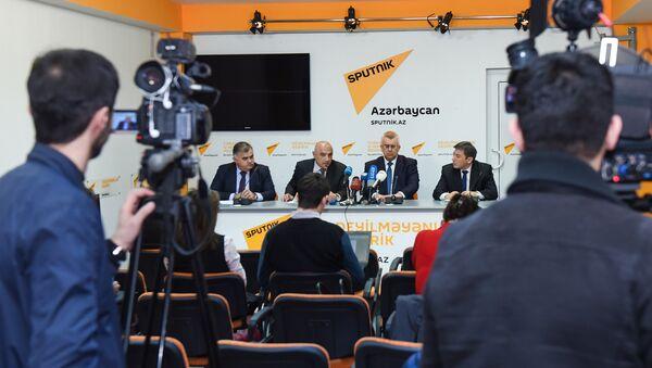 Пятьдесят первое заседание клуба политологов Южный Кавказ - Sputnik Азербайджан