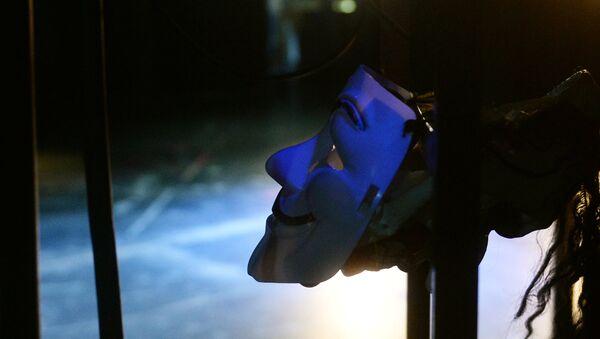 Театральная маска, фото из архива - Sputnik Азербайджан