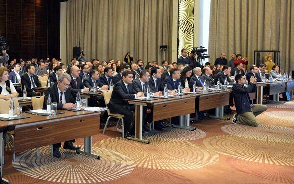 Налоговая конференция Вместе к прозрачности - Sputnik Азербайджан