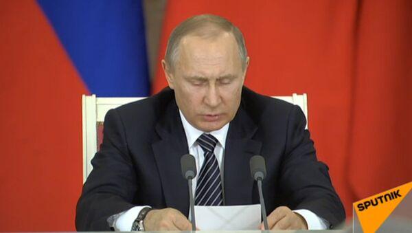 Пресс-конференция Путина и Эрдогана по итогам переговоров в Москве - Sputnik Азербайджан