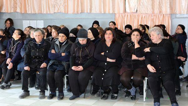4 saylı Cəzaçəkmə Müəssisəsində məhkum qadınlar üçün bayram konserti keçirilib - Sputnik Azərbaycan