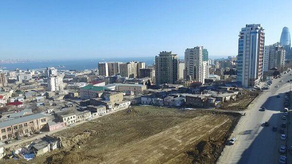 Продолжаются работы на территории, известной как Советская - Sputnik Азербайджан