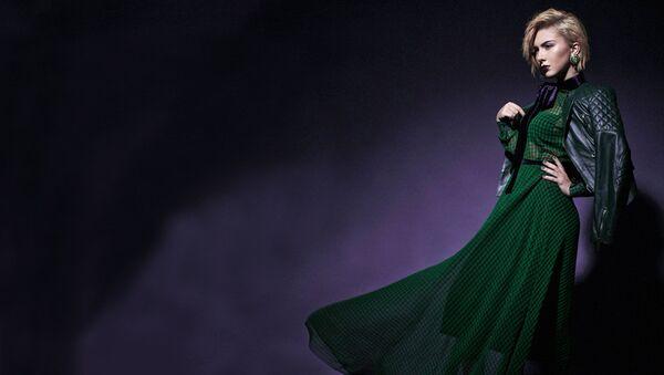 Популярная исполнительница, представительница Азербайджана на международном музыкальном конкурсе Евровидение-2017 Диана Гаджиева - Sputnik Азербайджан