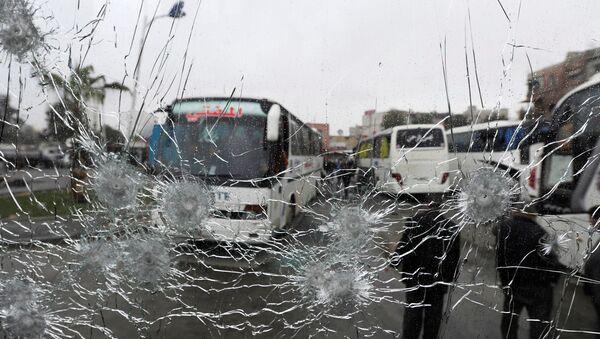 Взрыв в Дамаске - Sputnik Азербайджан