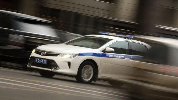 Полицейский автомобиль, фото из архива - Sputnik Азербайджан