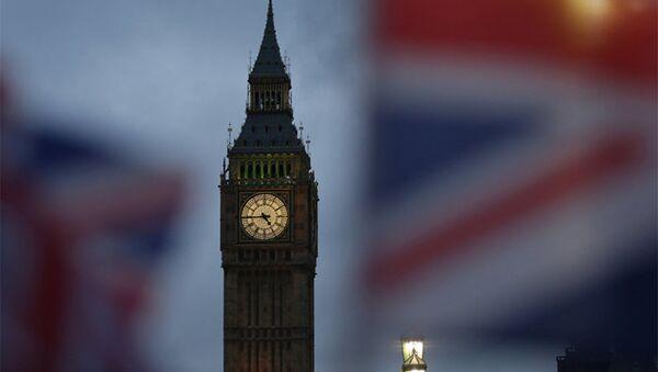 Биг Бен и здание Парламента в Лондоне, фото из архива - Sputnik Азербайджан