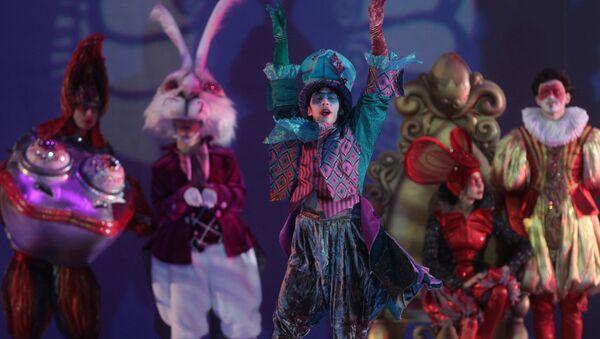 Ледовое шоу Алиса в стране чудес - Sputnik Азербайджан