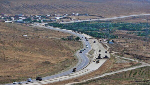 Автомагистраль Баку-Шамахы, фото из архива - Sputnik Азербайджан
