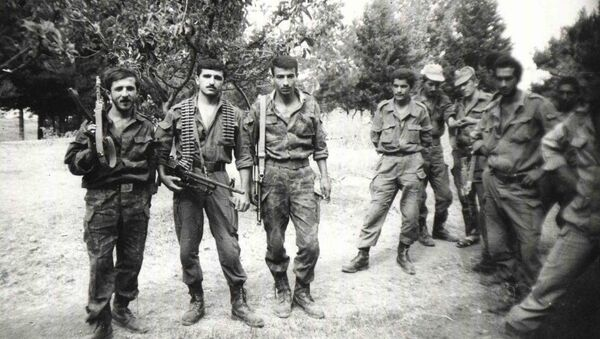 Карабахская война, фото из архива - Sputnik Азербайджан
