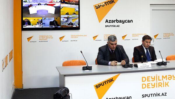 Видеомост тему Экономическая повестка дня Содружества Независимых Государств - Sputnik Азербайджан
