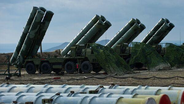 S-400 Kırım'da göreve başladı - Sputnik Azərbaycan
