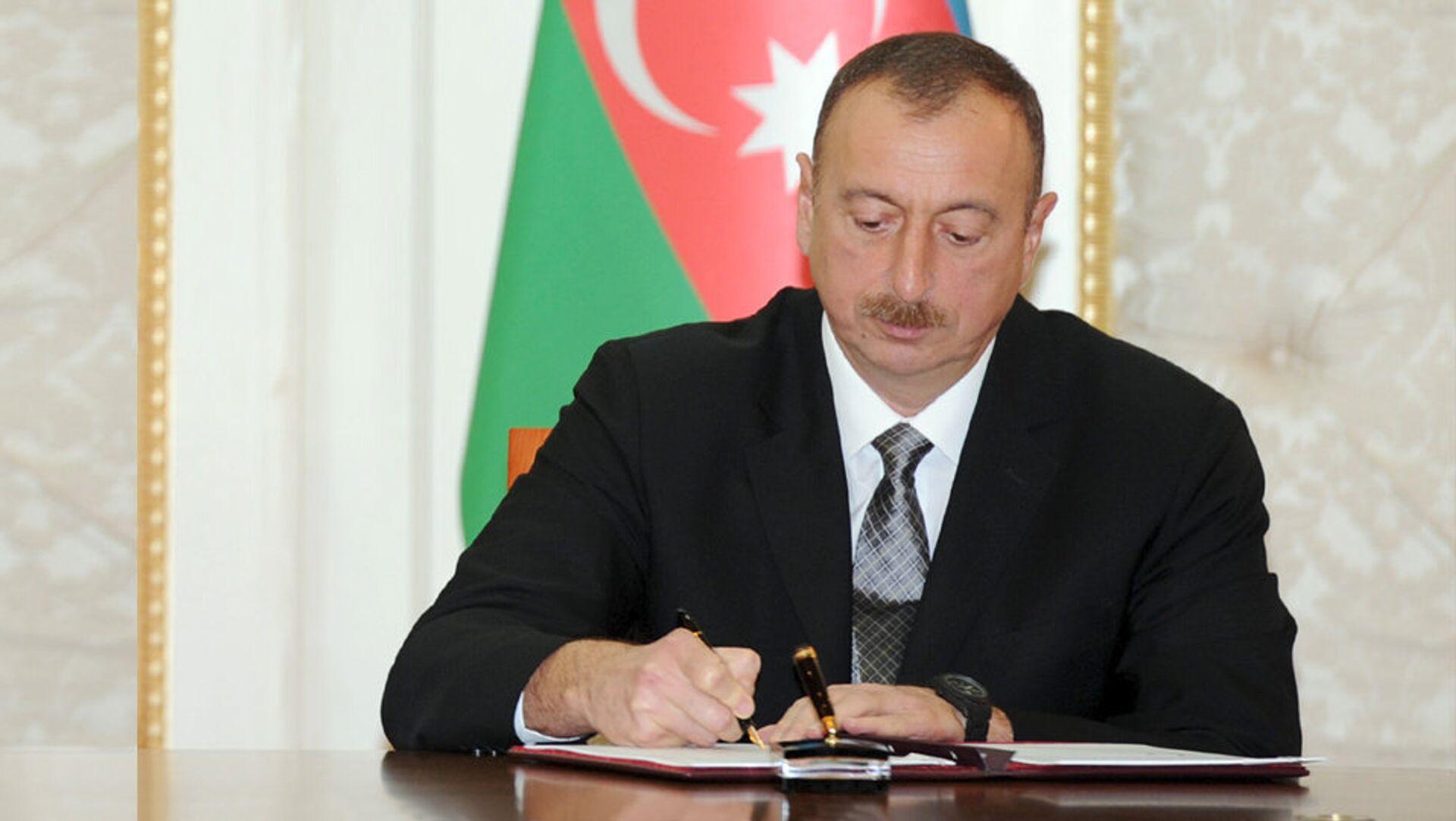 Azərbaycan Respublikasının Prezidenti İlham Əliyev - Sputnik Azərbaycan, 1920, 25.08.2021