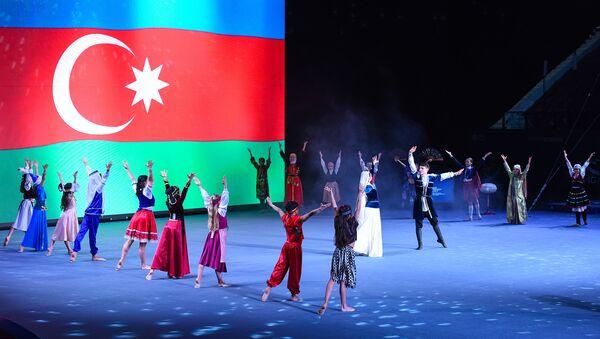 Открытие Кубка мира по спортивной гимнастике серии FIG в Баку - Sputnik Азербайджан